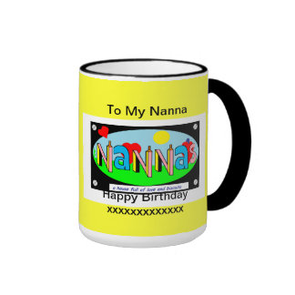 Nannas Birthday mug