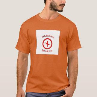Nanna's Hearth Logo & Havamal 135 Shirt - Orange