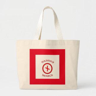 Nanna's Hearth Logo Large Fabric bag