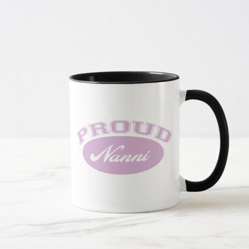 Nanni orgulloso taza