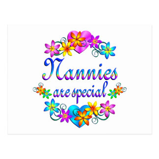 Nannies are Special Postcard