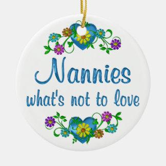 Nannies to Love Christmas Tree Ornaments