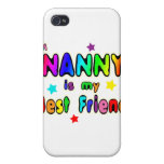 Nanny Best Friend Covers For iPhone 4