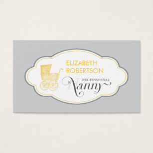 Nanny business cards templates zazzle nanny business card reheart Gallery
