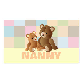 Nanny business cards