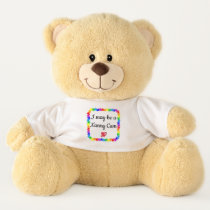 Nanny Camera Autism Awareness Emergency Custom Teddy Bear