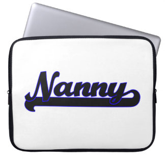 Nanny Classic Job Design Laptop Sleeve