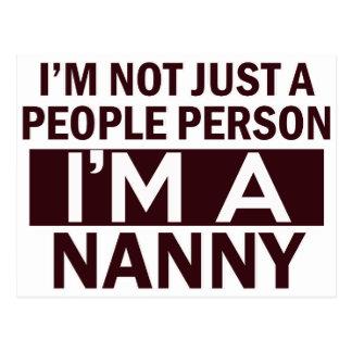 nanny  design postcard