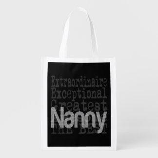 Nanny Extraordinaire Grocery Bag