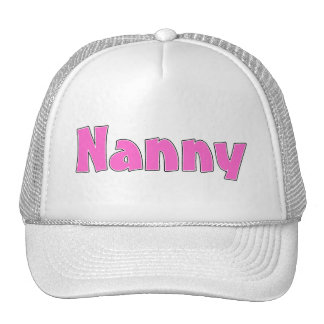 Nanny Trucker Hat