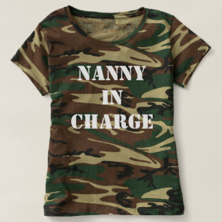 Nanny in Charge T Shirt