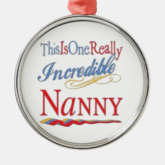 Nanny incredible metal ornament