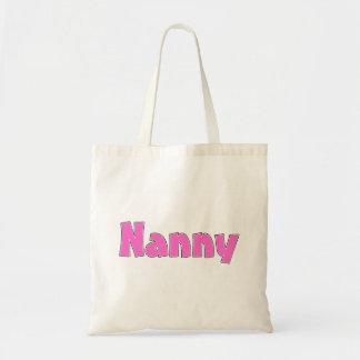 Nanny Pink Tote Bag
