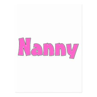 Nanny Postcard