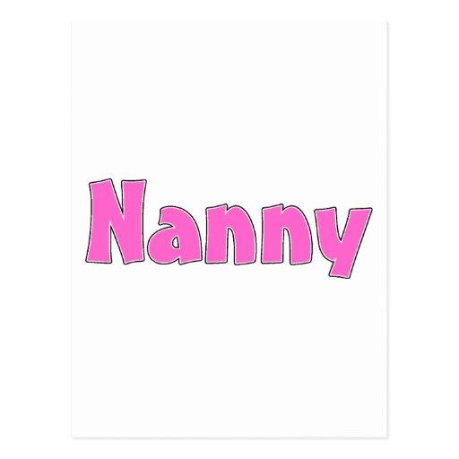 Nanny Postcards