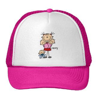 Nanny Stick Figure Trucker Hat