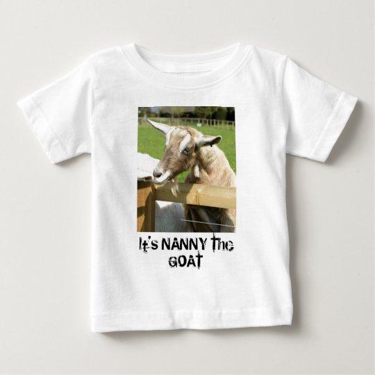 Nanny the Goat Infant's T-Shirt
