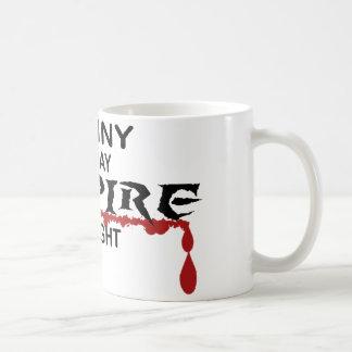 Nanny Vampire by Night Coffee Mug