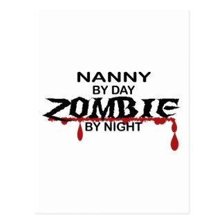 Nanny Zombie Postcard