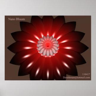 Nano Bloom Posters