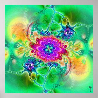 Nano-Cellular Adjustments V 2 Art Print