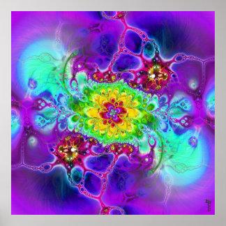 Nano-Cellular Adjustments V 3 Art Print