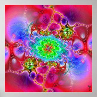 Nano-Cellular Adjustments V 4 Art Print