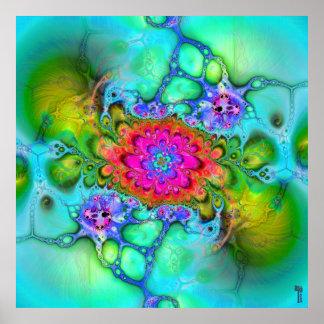 Nano-Cellular Adjustments V 6 Art Print