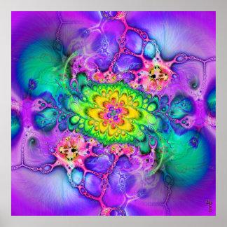 Nano-Cellular Adjustments V 7 Art Print