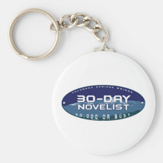 NaNo Colorado Springs Keychain