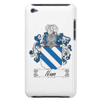 Nano Family Crest Barely There iPod Case