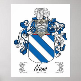 Nano Family Crest Print