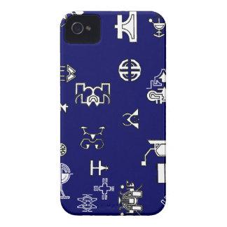 Nano Future Blue iPhone 4 Case-Mate Cases