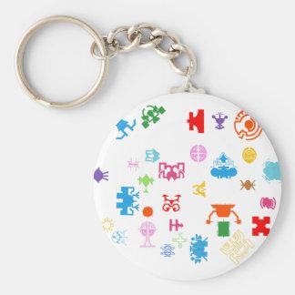 Nano Future Fun Keychain
