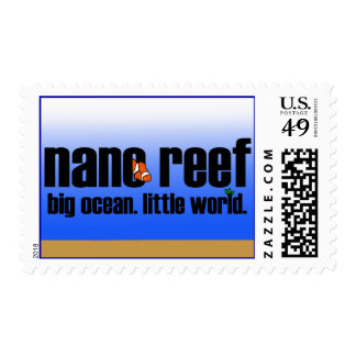 Nano Reef Postage Stamps