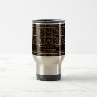 NANO Technology is future 15 Oz Stainless Steel Travel Mug