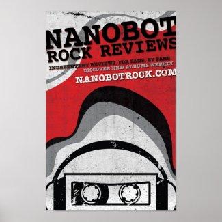 Nanobot Rock Poster