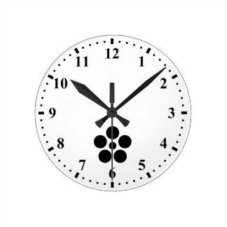 Nanokaichi hoshi umebachi round clock