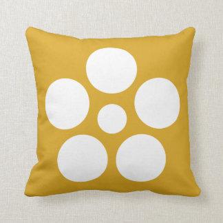 Nanokaichi hoshi umebachi throw pillow