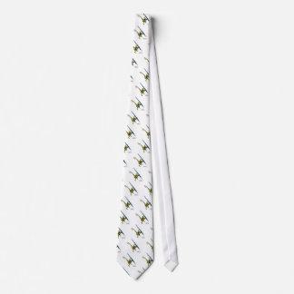 NaNoLA - Lemur with fountain pen Neck Tie