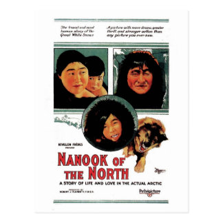 Nanook of the North Postcard