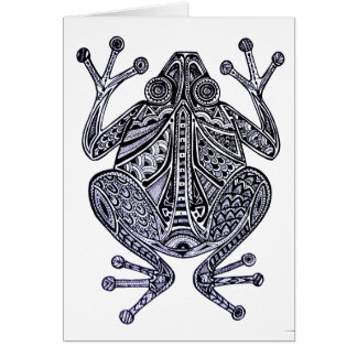 Nanook the Frog Blank Card
