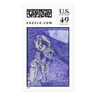 nanoorganicrobotic postage stamp