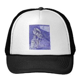 nanoorganicrobotic trucker hat