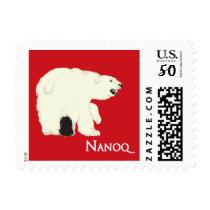 Nanoq (Polar Bear) Postage