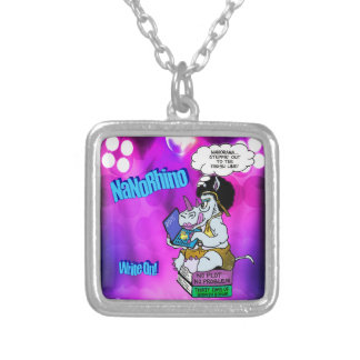 nanorhino 2015 silver plated necklace