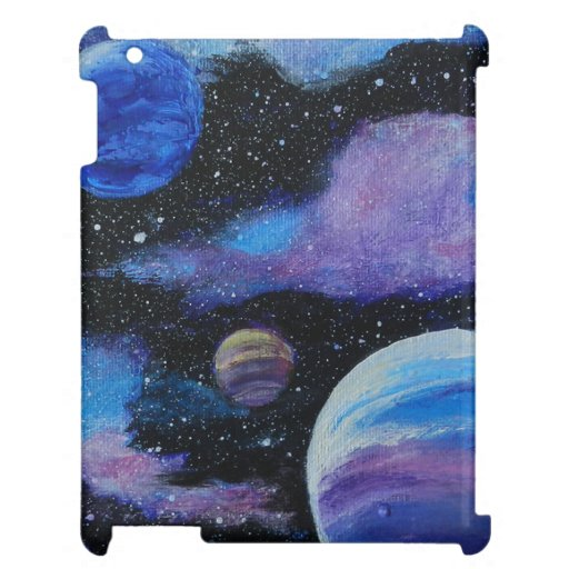 Nanosecond Space Painting Case For The iPad
