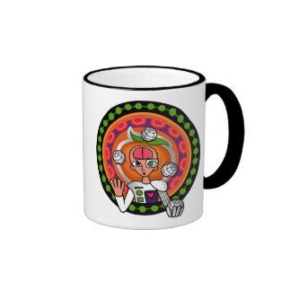 """Nanotech Nectarine"" Mug"