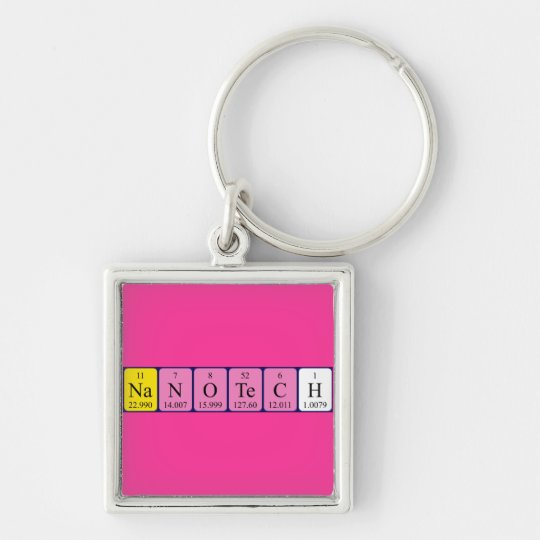 Nanotech periodic table name keyring