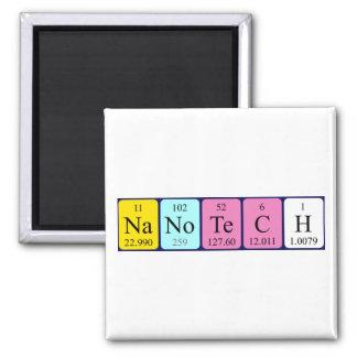 Nanotech periodic table name magnet
